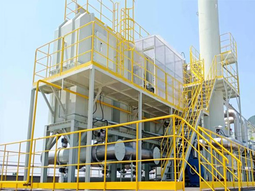 3万风量沸石转轮吸附+RTO凹版印刷行业
