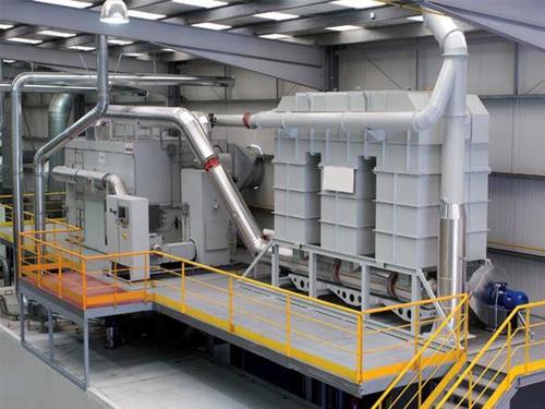 1万风量沸石转轮吸附+RTO用于橡胶废气治理