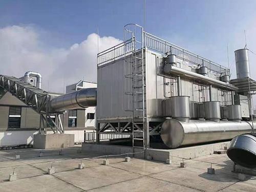 2万风量沸石转轮+CO用于凹版印刷行业